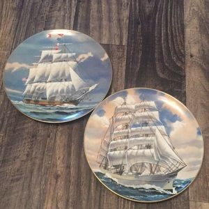 Danberry great American sailing ships plate